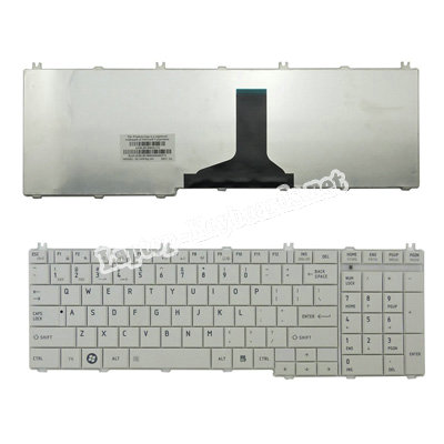 BRAND NEW FOR TOSHIBA SATELLITE L655D-S5102WH BLACK US LAPTOP KEYBOARD